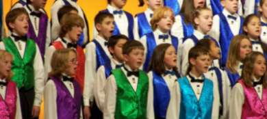 Cherubic children's Christian Choir. You have been warned.