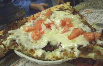 Donair pizza. Wrong. Yet so very right.