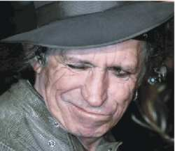 Keef Richards? Come back Hamster, all is forgiven!