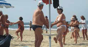 Spain - Sun, sea, sangria and sex heaven for the over 70's.