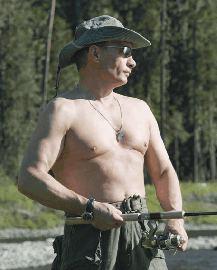 Vladimir Putin - Ruskie Romeo?