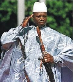 King of Bling Jammeh!