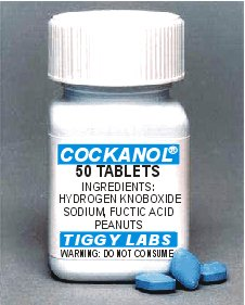 Cockanol - It's top of the Cocks!