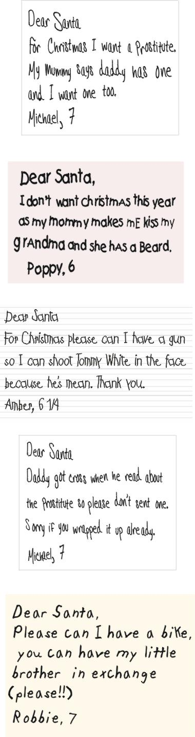 Dear Santa 1
